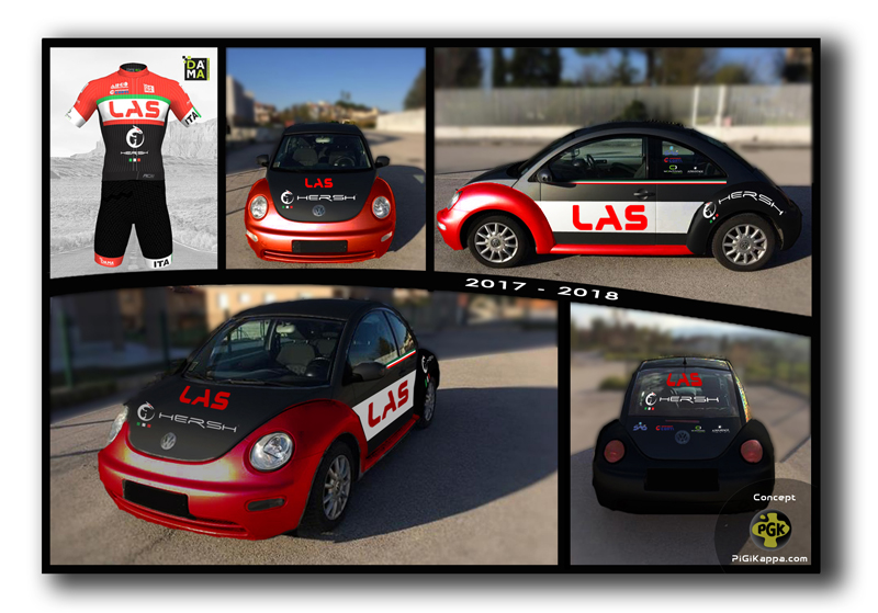"Concept Beetle squadra LAS 2017-2018 www.pigikappa.com PiGiKappa.com Your Digital Partner ""We Share Everything"" #share #pgk #pigikaèèa #pigikappa.com"