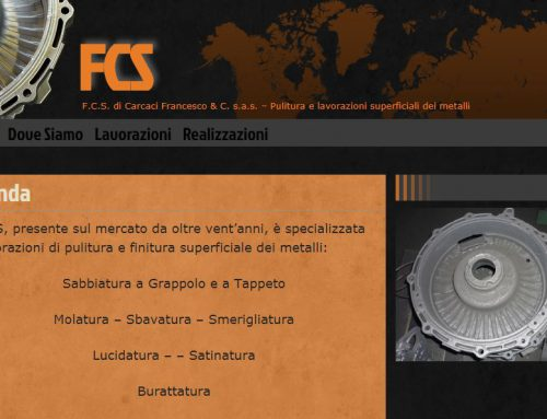 Gestione sito web Dal 2012, Web Design,Logo Design, web maintenance, graphics & video editing, assistenza grafica & software, content wrtiting per F.C.S. di Carcaci Francesco & C. s.a.s.