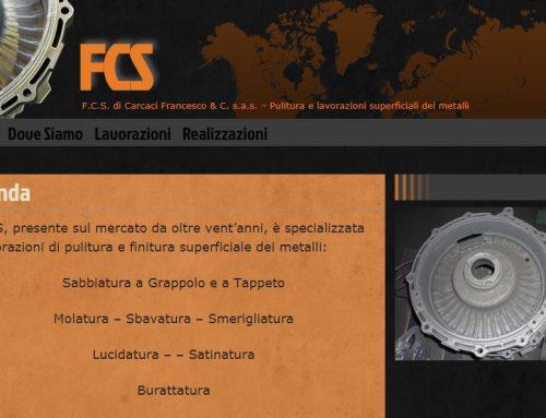 Gestione sito web Dal 2012, Web Design,Logo Design, web maintenance, graphics & video editing, assistenza grafica & software, content wrtiting per F.C.S. di Carcaci Francesco & C. s.a.s.
