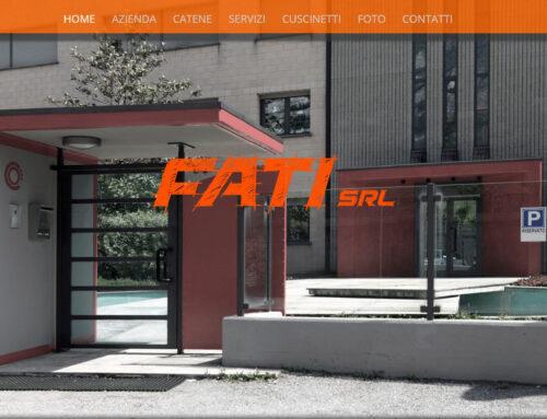 Gestione sito web Dal 2014, Web Design,Logo Design, gestione aggiornamento sito web, graphics & video editing, content wrtiting per Fati srl